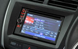 Mitsubishi ASX infotainment