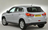Mitsubishi ASX rear quarter