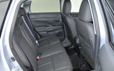 Mitsubishi ASX rear seats