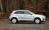 Mitsubishi ASX side profile