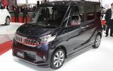 Mitsubishi GC-PHEV concept shown