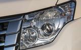 Mitsubishi Shogun headlights