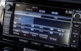 Mitsubishi Shogun infotainment system