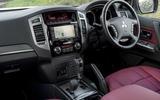 Mitsubishi Shogun interior