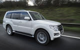 Mitsubishi Shogun side profile