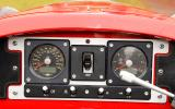 Morgan 3 Wheeler instrument cluster
