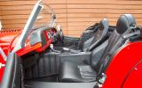 Morgan Plus 8 interior