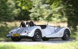 Morgan Plus 8 Speedster rear cornering