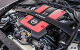 3.7-litre V6 Nissan 370Z Nismo engine