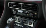 Nissan GT-R climate controls