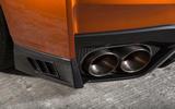 Nissan GT-R quad exhaust