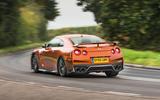 Nissan GT-R rear cornering