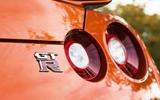 Nissan GT-R rear lights