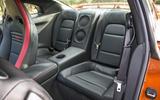 Nissan GT-R rear seats