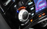 Nissan Juke climate controls