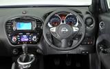 Nissan Juke dashboard