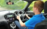 Driving the Nissan Juke
