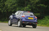 Nissan Juke rear cornering