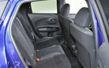 Nissan Juke rear seats