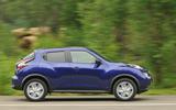 Nissan Juke side profile