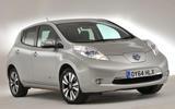 3.5 star Nissan Leaf