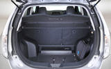 Nissan Leaf boot space