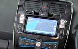 Nissan Leaf infotainment system