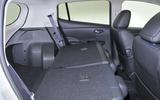 Nissan Leaf seating flexibility