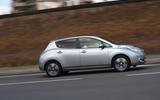 Nissan Leaf side profile