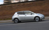 Nissan Leaf side profile