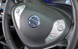 Nissan Leaf steering wheel controls