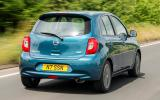Nissan Micra rear quarter