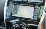 Nissan Micra infotainment system
