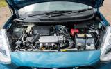 Nissan Micra three-cylinder engine