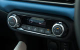 Nissan Micra climate controls