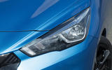 Nissan Micra headlights