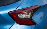Nissan Micra rear lights