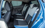 Nissan Micra rear seats