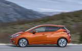 Nissan Micra side profile