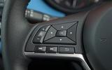 Nissan Micra steering wheel controls