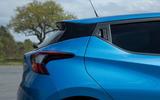 Nissan Micra tapering roofline