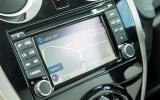Nissan Note 1.5 dCi infotainment