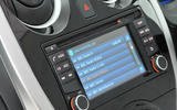 Nissan Note infotainment system