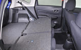 Nissan Note seating flexibility