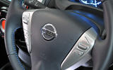Nissan Note steering wheel controls