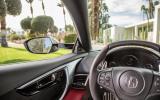 Honda NSX steering wheel