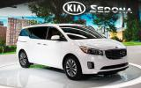 New Kia Sedona revealed at NY show