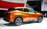 Nissan previews new Murano ahead of New York debut