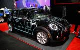 Tron-style design for new Mini art car