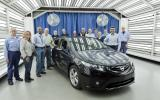 First Opel Ampera built